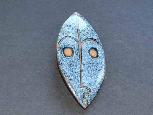 Quebec enamel pin