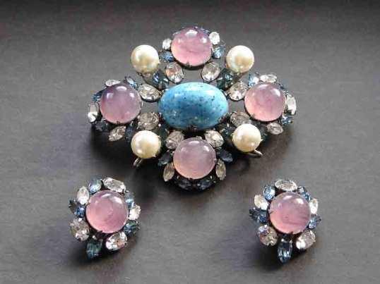 Schreiner pink and blue