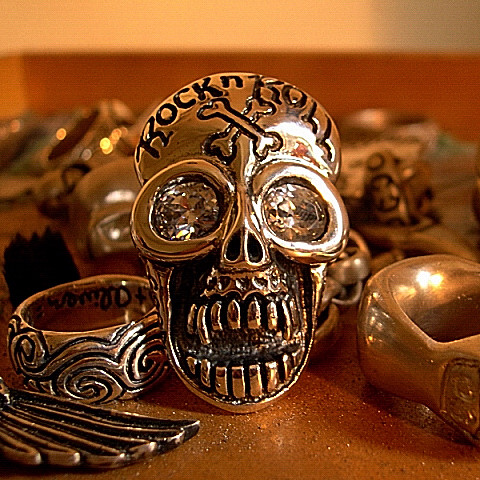 Tony Creed Skull Rings