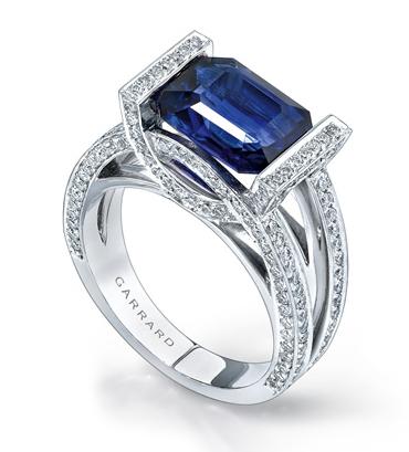 Garrard Deco Sapphire Ring