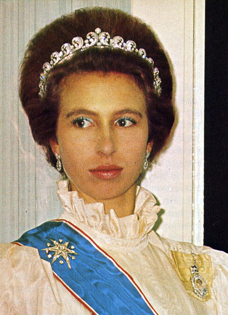 Jewel Of The Day Queen Elizabeth Scroll Tiara