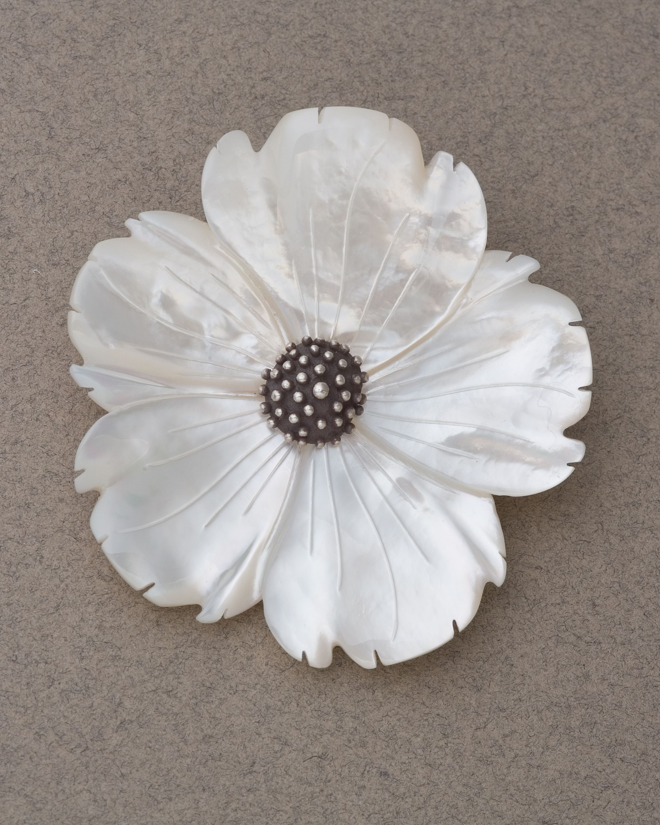 Mother Of Pearl Flower Jewelry