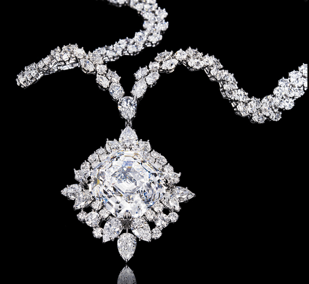 Jewel of the day harry winston asscher cut pendant necklace rate this aloadofball Images