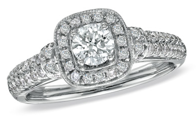 jewel of the day vera wang love collection engagement