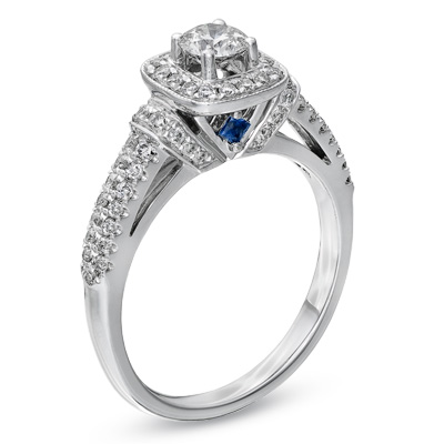 Jewel Of The Day Vera Wang LOVE Collection Engagement Ring For Zales