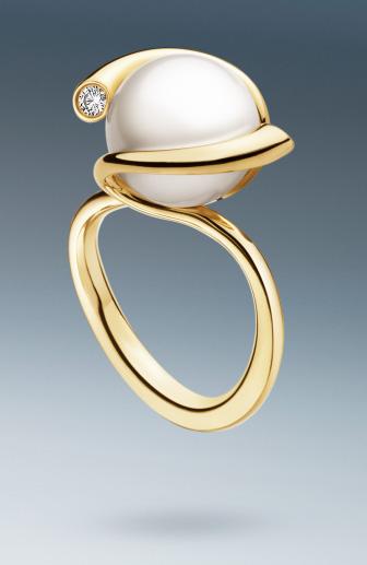 Jewel Of The Day Georg Jensen Magic Pearl And Diamond