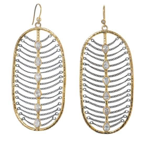 Melinda Maria Elizabeth earrings