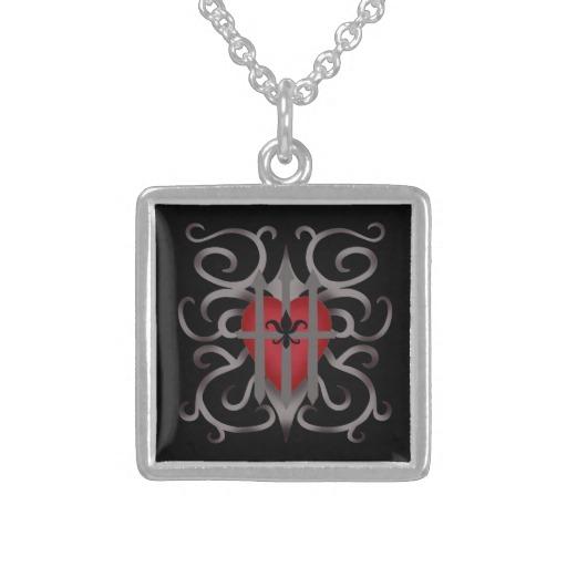 Imprisoned Heart necklace