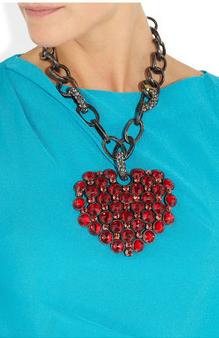 Lanvin heart necklace2
