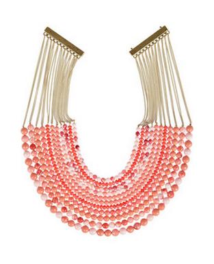 Rosantica coral necklace