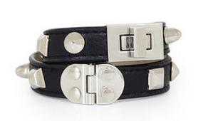 BCBG multistud turnlock bracelet