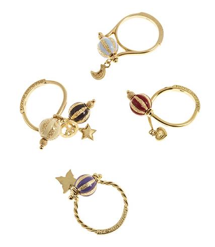 Carolina Bucci Carnevale rings