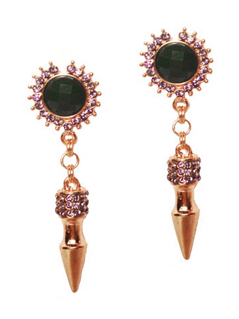 House of Gemmes Shotgun Earrings