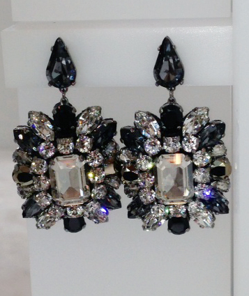 Swarovski Shourouk earrings