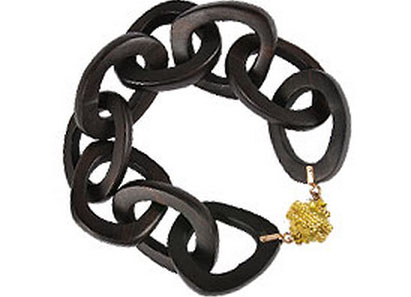 Clara Williams ebony bracelet