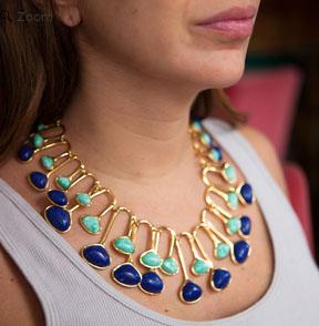 Lele Sadoughi meteor necklace2
