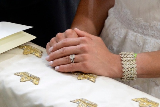 Princess Madeleine wedding bracelet