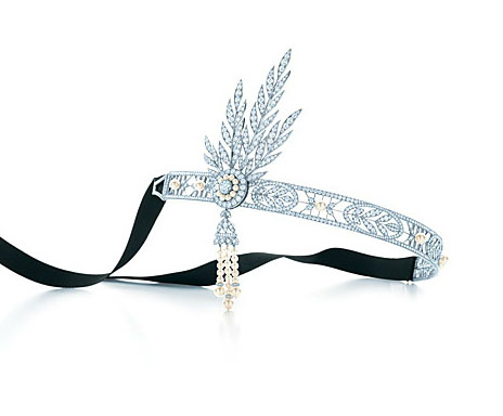 Tiffany Great Gatsby Savoy headpiece