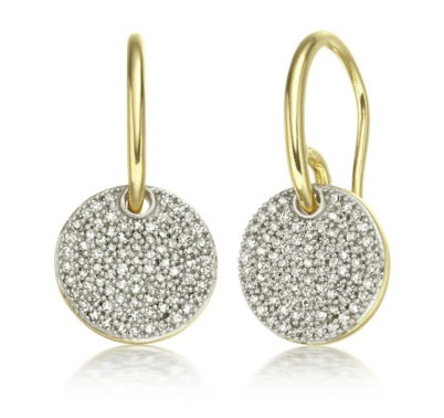 Monica Vinader Ava Diamond Pave earrings