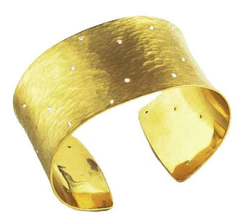 Toby Pomeroy eco gold cuff