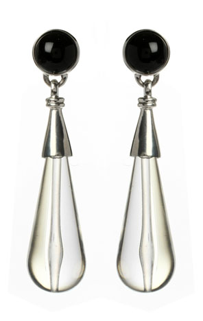 Ben-Amun lucite earrings
