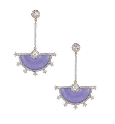 fancy silver products earrings rose finish r gold grande plated purple sterling drop jade