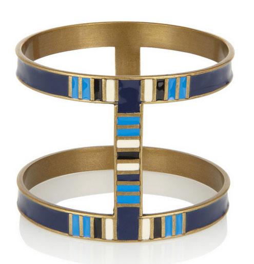 Isabel Marant enameled bracelet