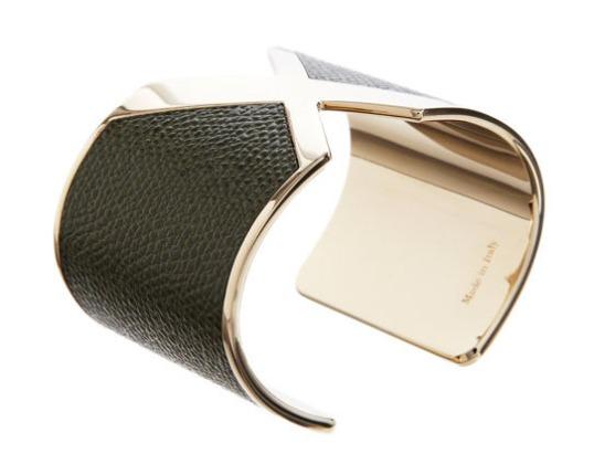 Valextra Leather X Cuff