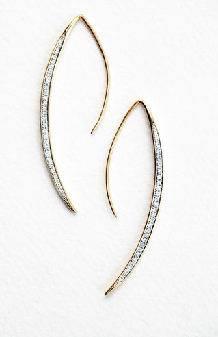 India Hicks Moon Slivers earrings