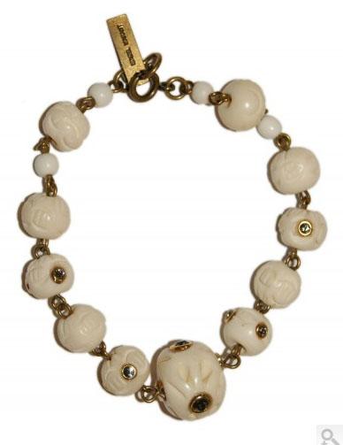 Isabel Marant buffalo bones bracelet