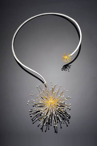 Paulette WErger Allium necklace
