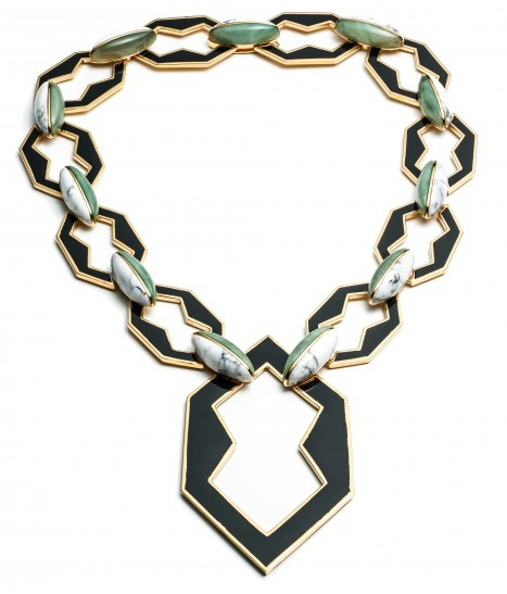 Eddie Borgo Peaked Link Necklace