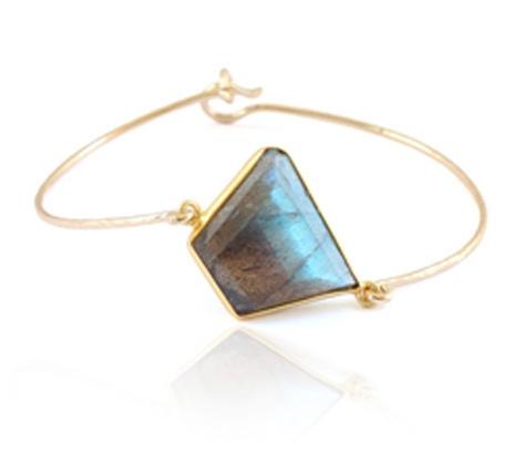 Leah Alexandra Labradorite bracelet
