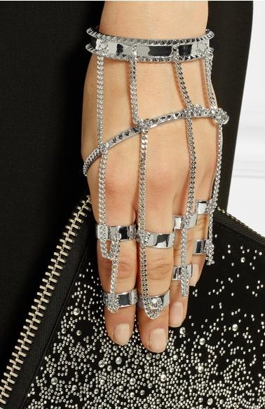 Eddie Borgo Finger Bracelet 2