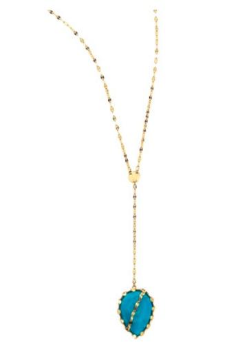 Lana Turquoise Lariat