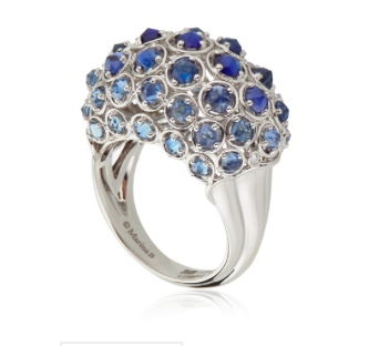 Marina B Pampilles Bombe Sapphire Ring