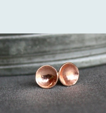 Marja Germans Gard Teensy Cup Stud Earrings