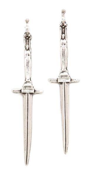 Pamela Love Dagger Earrings
