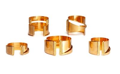 Alexander McQueen Five Cuff Set