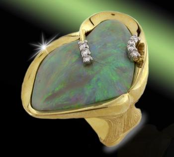 Claude Thibaudeau Opal Ring