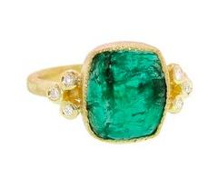 Yasuko Azuma Emerald Ring