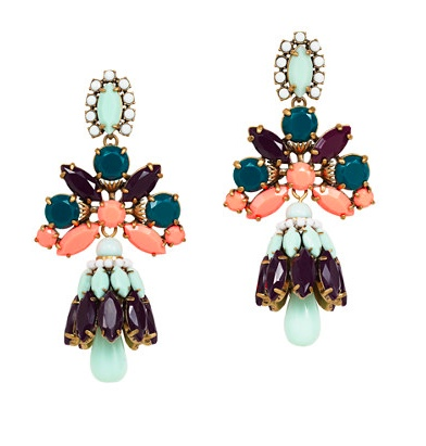 J Crew Crystal Shade earrings1