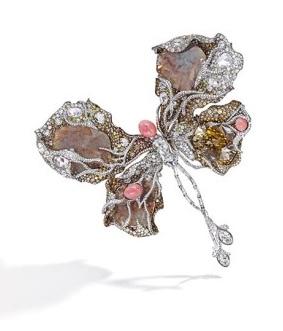 Sotheby's Ballerina Butterfly Brooch