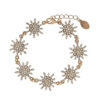 Accessorize Starlet Pave Stars Bracelet