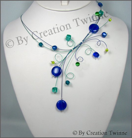 Creation Twinne necklace