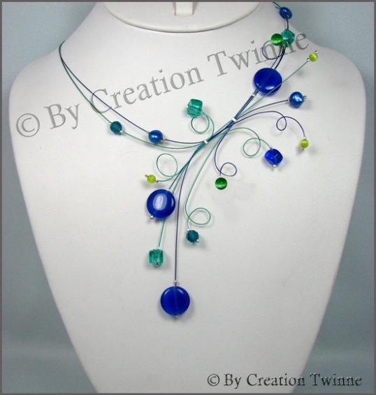 Creation Twinne necklace