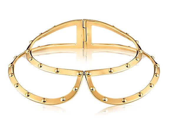 LV Lock Me Frame Collar Necklace