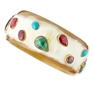 Ashley Pittman Multi Stone Horn Cuff