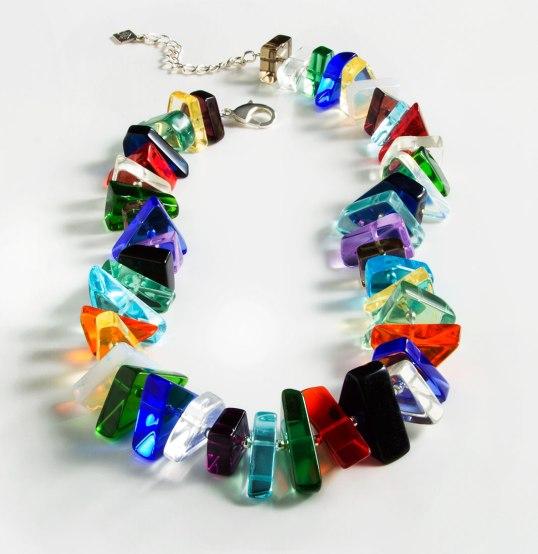 Chicago Art Institute Quartz necklace