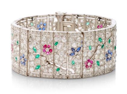Lacloche Art Deco Bracelet